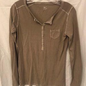 Sage long sleeve shirt